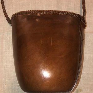 Barneys New York Bags - Barney's NY Structured Boho Shoulder Bucket Bag